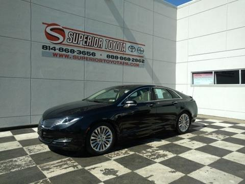 2014 Lincoln Mkz For Sale In Pennsylvania Carsforsale Com