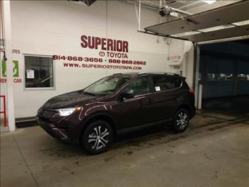 2017 Toyota RAV4 for sale in Erie, PA