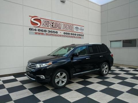 2012 Toyota Highlander for sale in Erie, PA