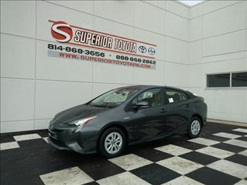 2017 Toyota Prius for sale in Erie, PA
