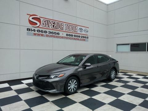 2018 Toyota Camry for sale in Erie, PA
