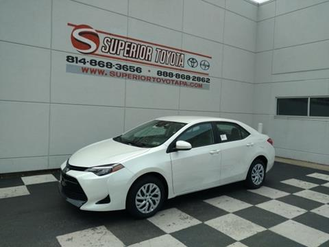 2017 Toyota Corolla for sale in Erie, PA