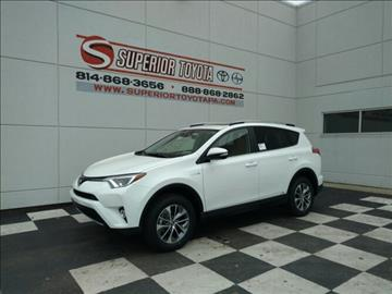 2017 Toyota RAV4 Hybrid for sale in Erie, PA