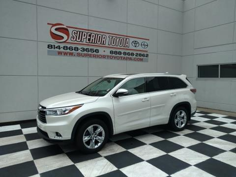 2014 Toyota Highlander for sale in Erie, PA