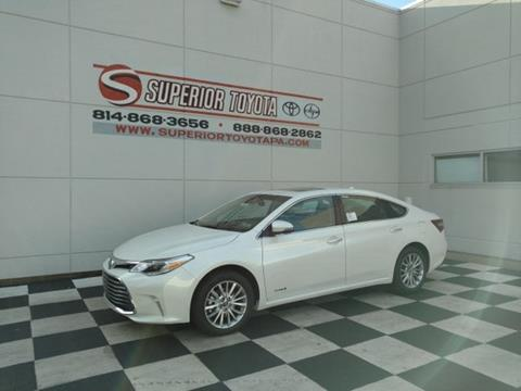 2018 Toyota Avalon Hybrid for sale in Erie, PA
