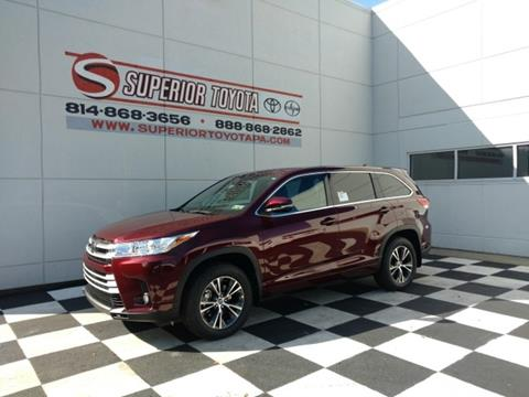 2017 Toyota Highlander for sale in Erie, PA