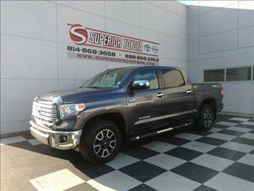 2014 Toyota Tundra For Sale Pennsylvania Carsforsale Com