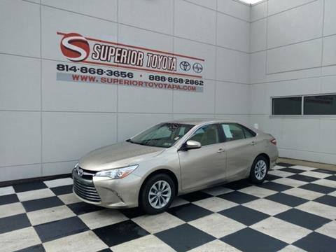 2017 Toyota Camry for sale in Erie, PA