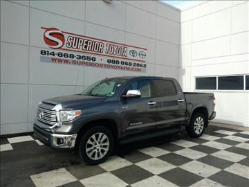 used toyota tundra for sale erie pa. Black Bedroom Furniture Sets. Home Design Ideas
