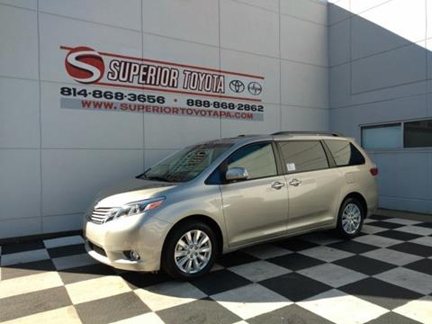 2017 Toyota Sienna for sale in Erie, PA