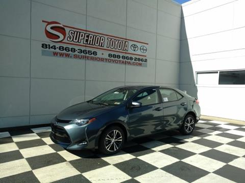 2018 Toyota Corolla for sale in Erie, PA