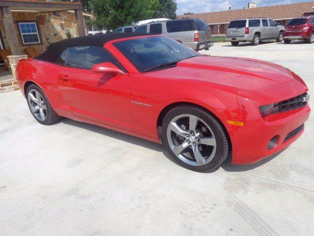 2011 Chevrolet Camaro LT 2dr Convertible w/2LT - Mabank TX