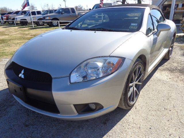 2012 Mitsubishi Eclipse Spyder GS Sport 2dr Convertible - Mabank TX
