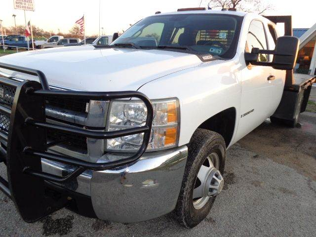 2008 Chevrolet Silverado 3500HD CC 4x4 Work Truck 4dr Extended Cab Chassis - Mabank TX