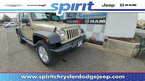 2017 Jeep Wrangler Unlimited for sale in Swedesboro, NJ