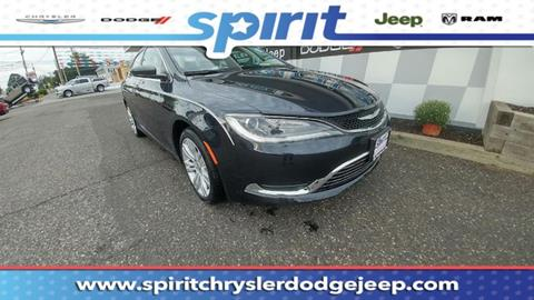 2016 Chrysler 200 for sale in Swedesboro, NJ