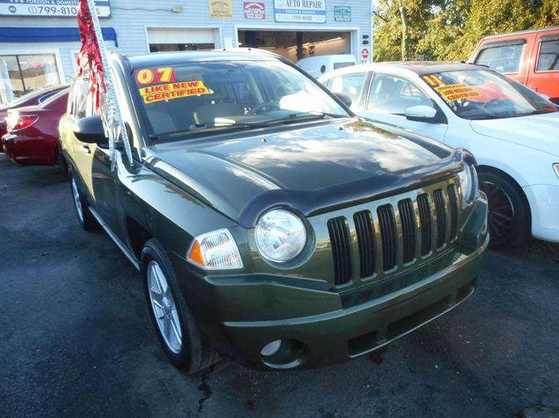 2007 jeep compass green metallic amity bay auto sales. Black Bedroom Furniture Sets. Home Design Ideas