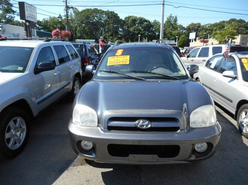 2005 hyundai santa fe awd gls 4dr suv in amityville ny. Black Bedroom Furniture Sets. Home Design Ideas