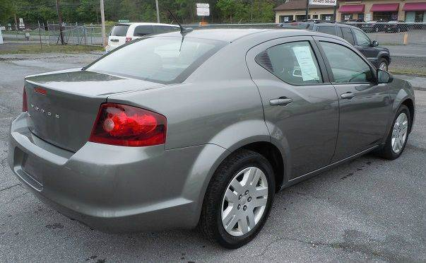 2012 Dodge Avenger SE 4dr Sedan - Pine Grove PA
