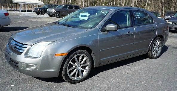 2009 Ford Fusion SE 4dr Sedan - Pine Grove PA