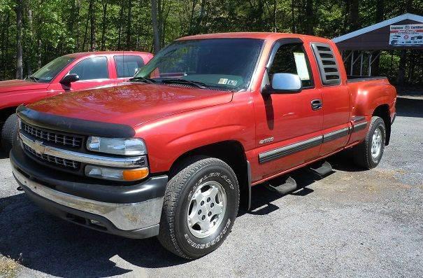 2001 Chevrolet Silverado 1500 4dr Extended Cab LS 4WD SB - Pine Grove PA
