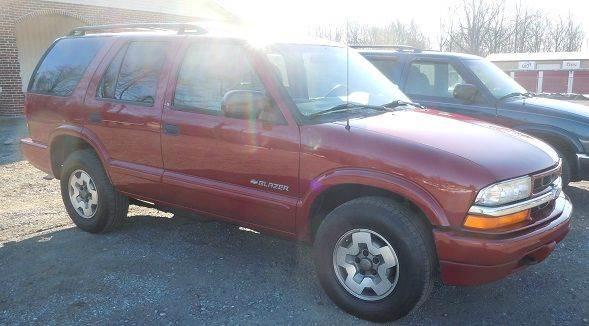 2002 Chevrolet Blazer LS 4WD 4dr SUV - Pine Grove PA