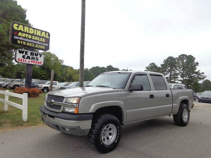2005 chevrolet silverado 1500 for sale in raleigh nc. Black Bedroom Furniture Sets. Home Design Ideas