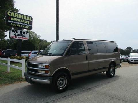 2000 Chevrolet Express Passenger for sale in Raleigh, NC