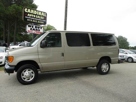2007 Ford E-Series Wagon for sale in Raleigh, NC