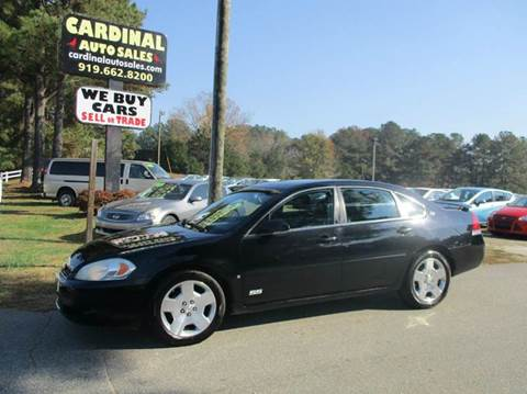 2006 Chevrolet Impala for sale in Raleigh, NC