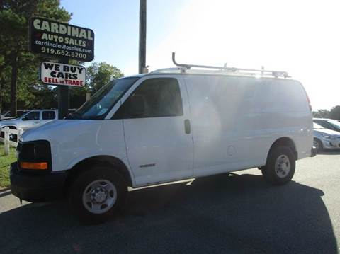 2005 Chevrolet Express Cargo for sale in Raleigh, NC