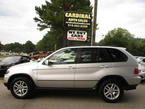 2005 BMW X5 for sale in Raleigh, NC