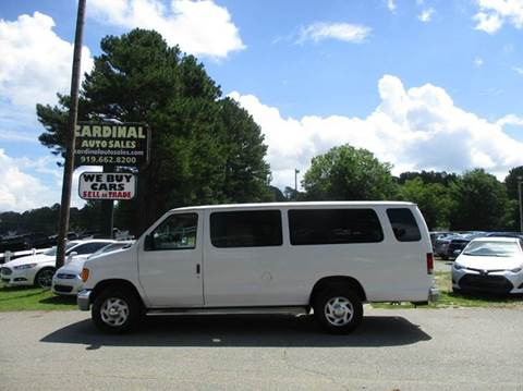 2004 Ford E-Series Wagon for sale in Raleigh, NC