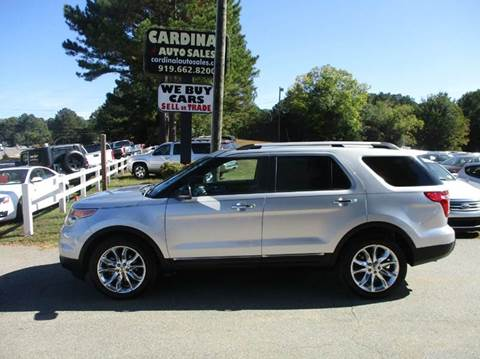 2011 Ford Explorer for sale in Raleigh, NC