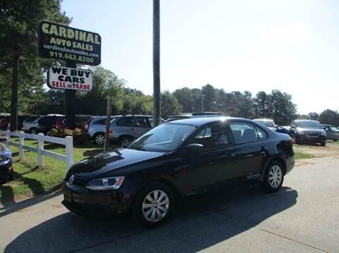2011 Volkswagen Jetta For Sale North Carolina
