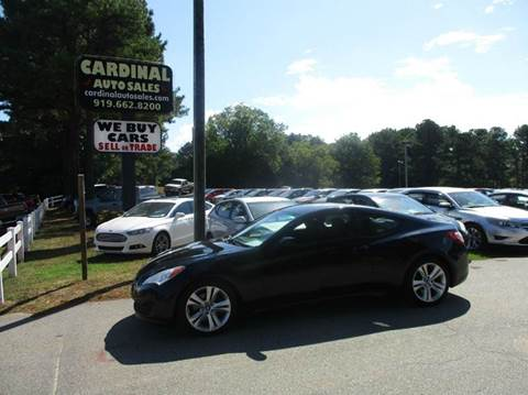 2011 Hyundai Genesis Coupe for sale in Raleigh, NC