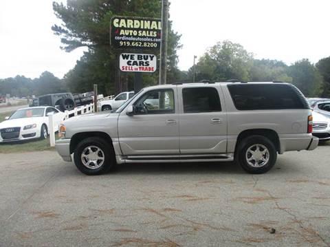 2005 GMC Yukon XL for sale in Raleigh, NC