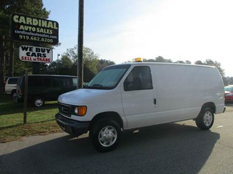 Cargo Vans For Sale Raleigh Nc
