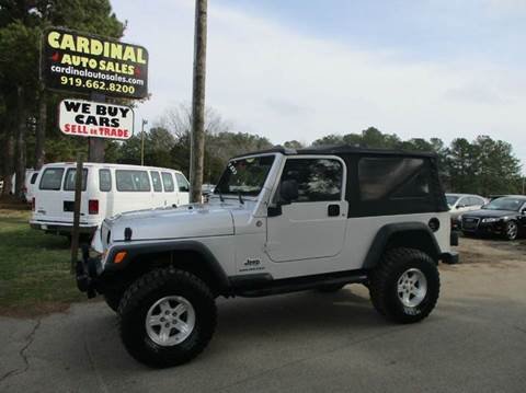 2006 Jeep Wrangler for sale in Raleigh, NC