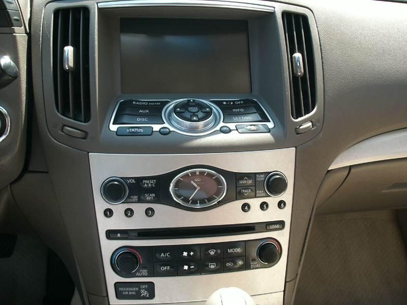 2007 Infiniti G35 4dr Sedan (3.5L V6 5A) - Fontana CA