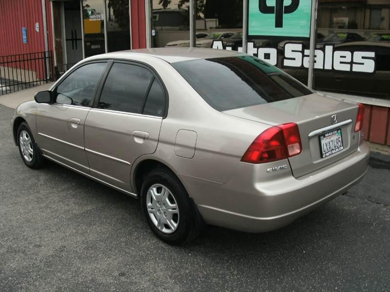 2002 Honda Civic LX 4dr Sedan - Fontana CA