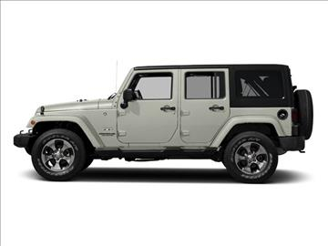 2017 Jeep Wrangler Unlimited for sale in Alliance, OH