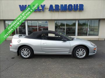2002 Mitsubishi Eclipse Spyder for sale in Alliance, OH