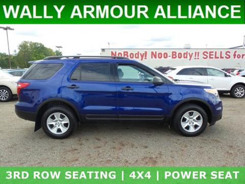 2013 Ford Explorer for sale in Alliance, OH