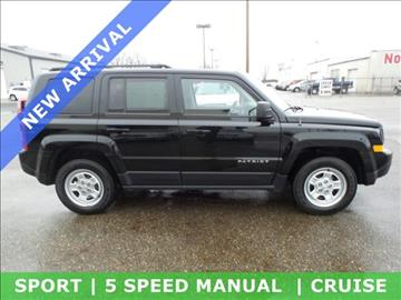 2014 Jeep Patriot for sale in Alliance, OH