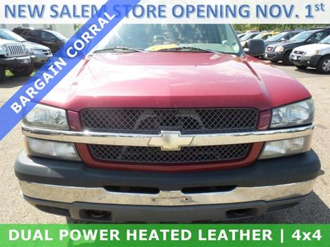 2004 Chevrolet Silverado 1500 for sale in Alliance, OH