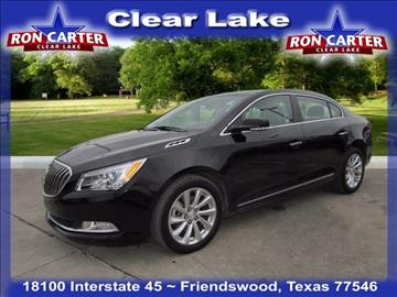2016 Buick LaCrosse for sale in Houston, TX