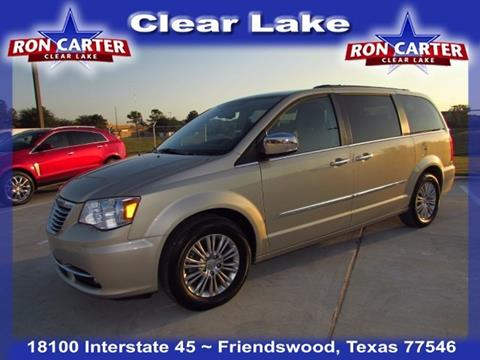 2015 Chrysler Town and Country for sale in Houston, TX