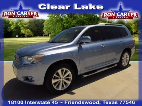 Ron Carter Clear Lake >> Used Toyota Highlander Hybrid For Sale in Houston, TX - Carsforsale.com
