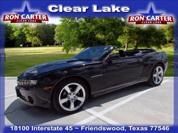 2011 Chevrolet Camaro for sale in Houston, TX